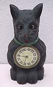 Lux Black Terrier Clock - circa 1938