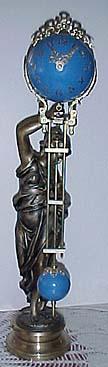 SWEETEE antique ansonia swinger antique clocks girl